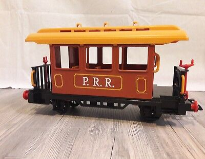 Playmobil 4120 4034 4054 brauner Western Personenwaggon Steaming Mary