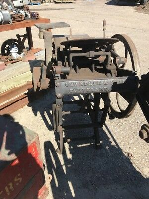 Antique Printing Press Chandler And Price Cleveland Ohio 2 Av Price each