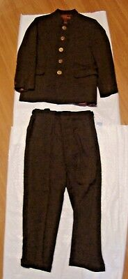 Vintage   Beatles  Style  Boys Suit  Brand Esskay   Size 6