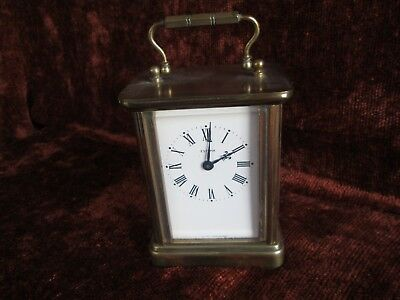 vintage solid brass carriage clock  (spares)