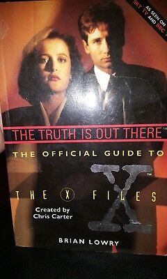 the truth is out there, the official guide to the x files