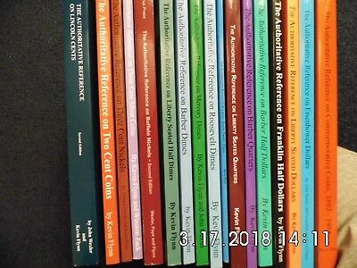 Numismatic Library - Authoritative Reference Series by Kevin Flynn - 17 Volumes