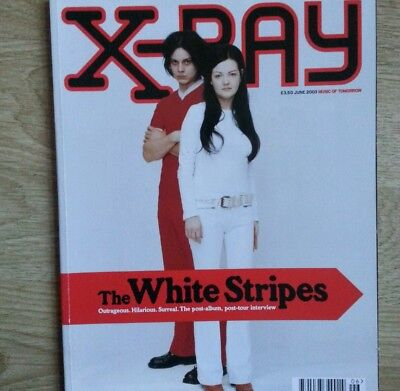 X-Ray June 2003 The White Stripes post tour interview