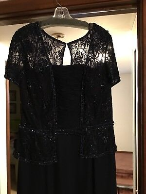 Navy Blue Mother of the Bride Dress - 18w - *Brand New*
