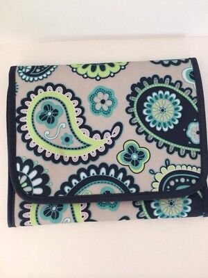 Thirty-One Fold It Up Organizer Tablet Holder Cover Planner Paisley Day
