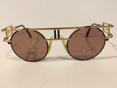 Cazal Vintage Eyeglasses - Model 958- Col. 302- Gold, Black