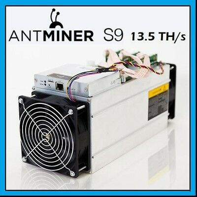 ANTMINER S9 x2 27+ TH/s 24-Hour Mining Contract for Bitcoin or anySHA-256 Coin