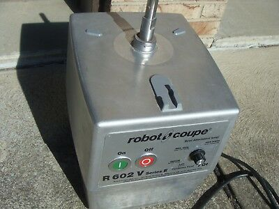 Robot Coupe 602V Variable Speed Food Processor Excellent Condition! 120Volt!