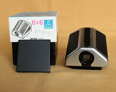 Eye level non metered prism for Pentacon Six genuine MINT-
