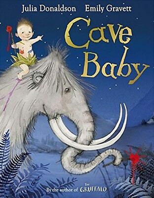 Cave Baby by Julia Donaldson (Paperback) [NEW]