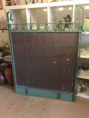 Rare Antique Gate Copper Panel Gate