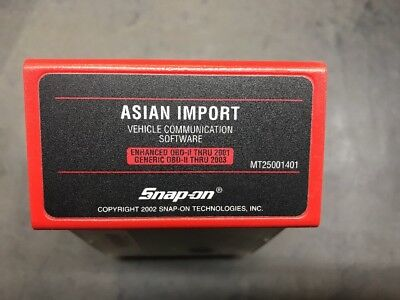 Snap On Asian Imports VCS Cartridge MT2500 Scanner NICE