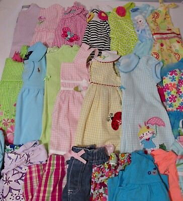 Lot Baby Girl Clothes_12 &18 Months_Spring-Summer_Rompers/Dresses/Shorts/Tops