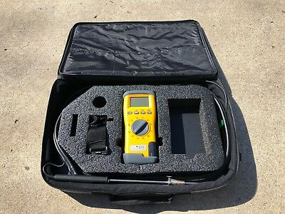 UEI Eagle C75 Combustion Analyzer Kit with Probe & Case - AS IS FOR PARTS