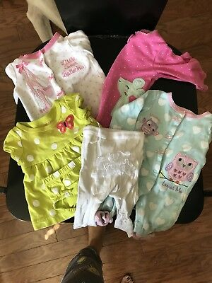 newborn girl bundle of items