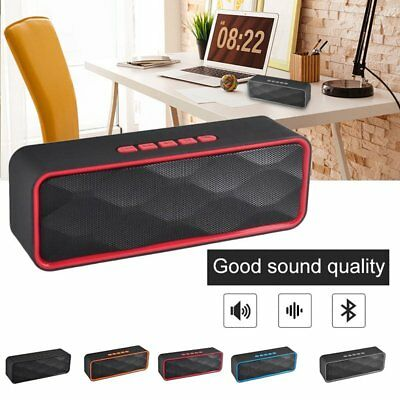 Portable Wireless Bluetooth Speaker Subwoofer Super Bass Stereo Loudspeakers New