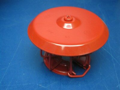 Lot of 25 - Tyco G1/S1 Fire Sprinkler Head Cover Protector Guard Shield RED