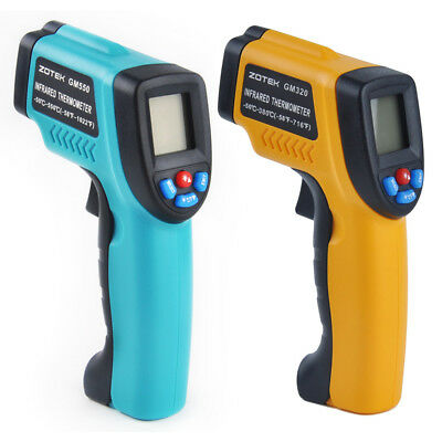 Handheld Non-Contact Digital Thermometer Ir Laser Temperature Gun Infrared Tools