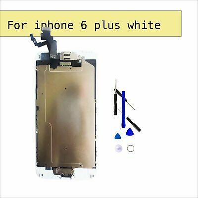 "For iPhone 6 Plus 5.5"" White Lens LCD Display Touch Digitizer Screen Replacement"