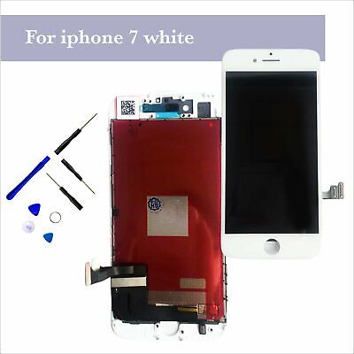 """Touch Screen Digitizer LCD Display Replacement Assembly For White iPhone 7 4.7"""""""