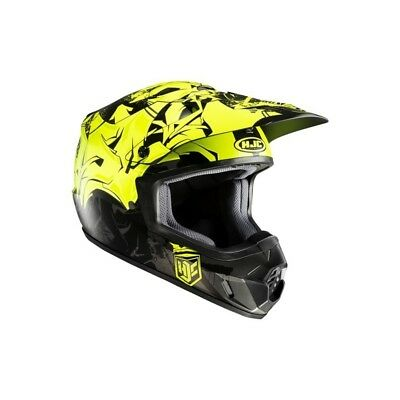 HJC Motorradhelm Crosshelm Off-Road CS-MX II Graffed MC4HSF Gr.L