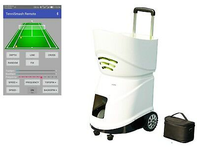 Easyday Sports Professional Portable Smart Tennis Ball Machine for Training