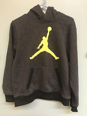 Nike Air Jordan Boys Hoodie Sweatshirt Size Youth Large /13-15 YO/