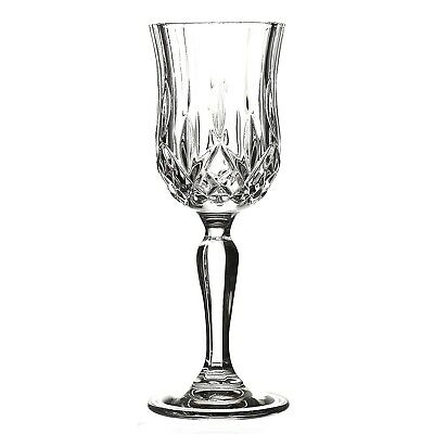 Lorren Home Trends Opera Liquor Glass Set (Set of 6), Clear. Free Delivery