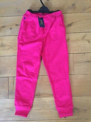 BNWT Ralph Lauren Girls Pink Jogger Trousers/ Jogging Bottoms Age 7 Yrs (Small)