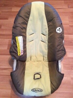 Graco Car Seat SNUGRIDE 20 22 Baby Infant Carrier Cover Replacement Brown Green & GRACO CAR Seat SNUGRIDE 20 22 Baby Infant Carrier Cover Canopy Set ...