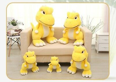 Cute Little Dinosaur Gon Stuffed Plush Toy Doll Kid Baby Gift Yellow