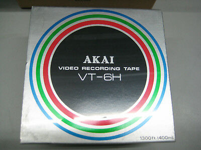 AKAI VT-6H, Video Recording Tape