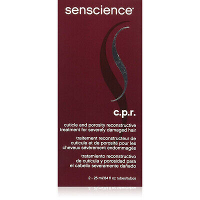 Senscience CPR 2 Piece Cuticle Porosity Reconstruct Tubes, 0.84 Ounce