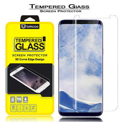 3D Full Cover Tempered Glass Screen Protector For Samsung Galaxy S9/S9 Plus New