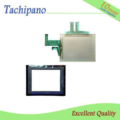 Touch screen panel glass for Omron NS10-TV00B-ECV2 with Protect flim overlay