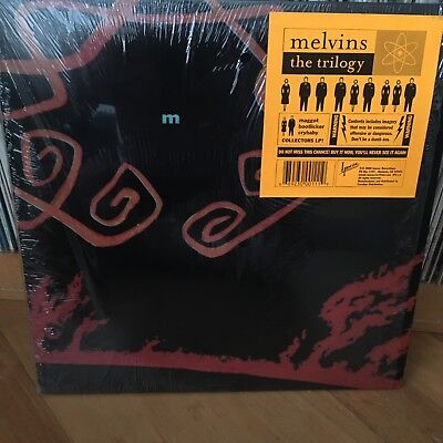 MELVINS*The Trilogy*RARE*3 LP Collectors Edition*