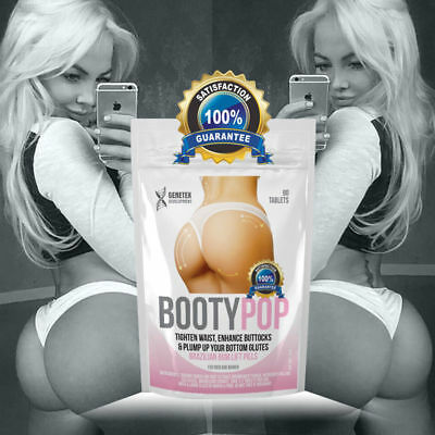 Brazilian Bum Lift Pills Butt Enhancer, Tone Round Firm Enlarger Big Bum Tablets