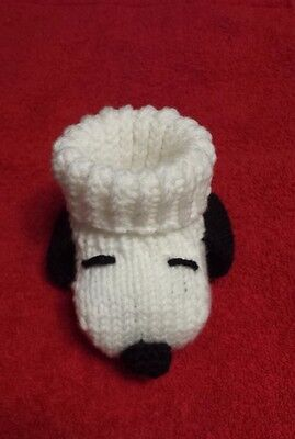 Snoopy Baby booties socks handmade various sizes baby shower dog puppy Peanuts