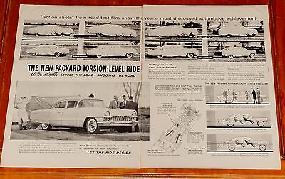 1955 Packard Patrician Sedan For Torsion Level Suspension Large Ad - 50S Retro