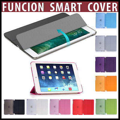 "Funda Smart Cover para iPad Mini 1,2,3,4 / Nuevo iPad 2018 9.7"" / iPad PRO 10.5"""