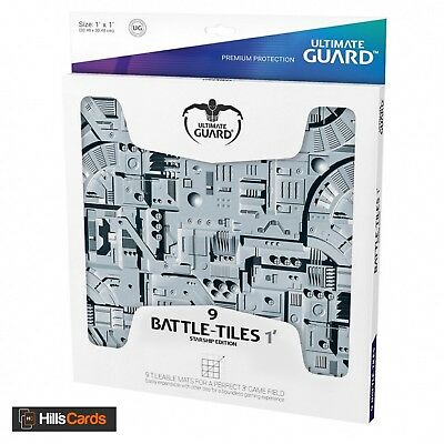 Ultimate Guard Battle-Tiles 1': Starship Edition - 9 Mats for a 3' Game Field