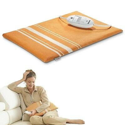 Beurer HK35 Soft Heating Pad With Turbo 3 Adjustable Heat Setting Washable 100W
