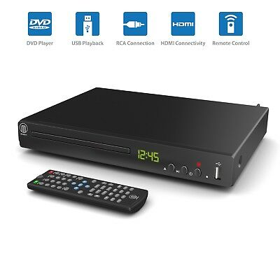 Compact DVD Player HDMI Upscaling & Scart USB Multi Region