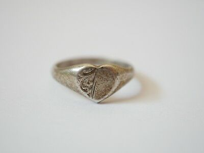 Metal Detecting Find ,,sterling Silver Ring,,
