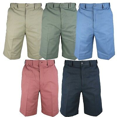 Mens Carabou Expand a band Summer SHORTS 32-54 Chino 100% cotton Holiday Cool