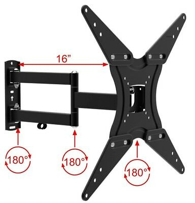 TV Wall Mount Full Motion Bracket Fits 32 - 55 Inch LED LCD Flat Screen