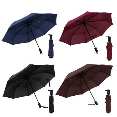 Folding Compact Umbrella Automatic Open Close Travel Sun Rain Umbrella Windproof