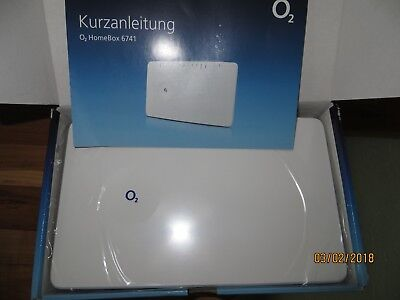 O2 Homebox 2 6741 DECT WLAN Router  Modem OVP