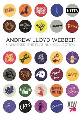 UNMASKED The Platinum Collection (VV.AA.) Andrew Lloyd Webber BOX 4 CD Nuovo