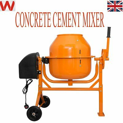 70 Litre Large Professional 250W Portable Electric Concrete Cement Mixer New
